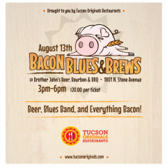 Tucson Originals Bacon Blues Brews