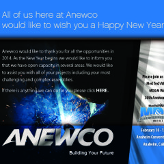 Anewco Holiday Eblast